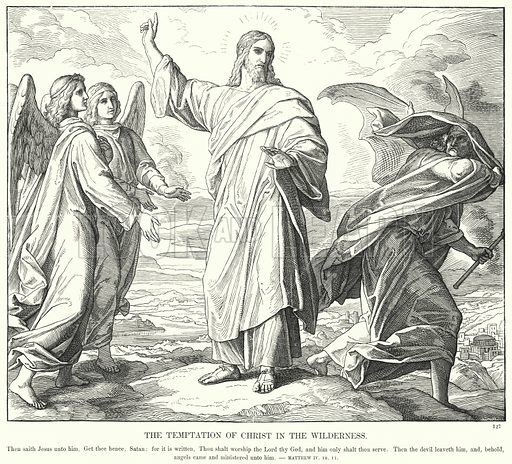 The Temptation of Christ in the Wilderness