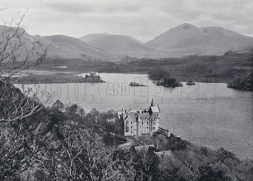 Loch Awe, the Hotel. Illustration for Sights and Scenes in Scotland (Cassell, c 1895).