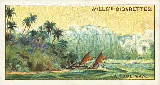 A tidal wave