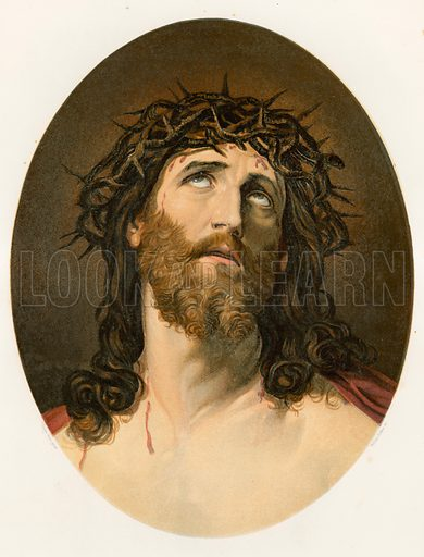 Ecce Homo. Studies from the Great Masters (Hamilton, Adams & Co, c 1860). Engraved and printed in colours by William Dickes.