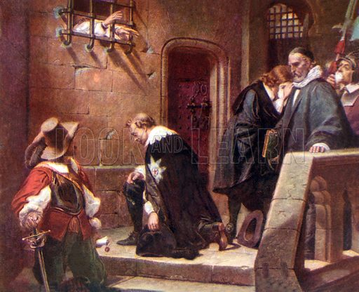 picture, Thomas Wentworth, Earl of Strafford, execution