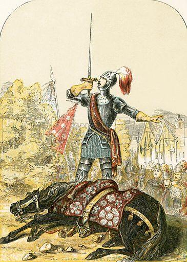 Warwick the kingmaker, picture, image,. illustration