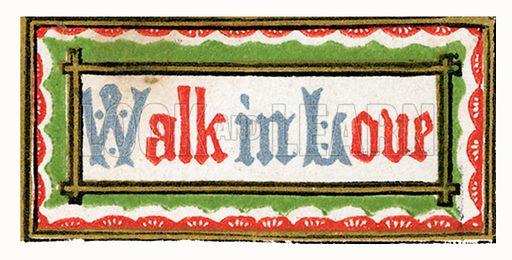 DAILY GRACE: WALK IN LOVE
