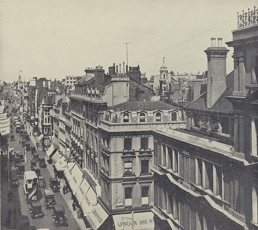 East Side of Bond Street, Looking North