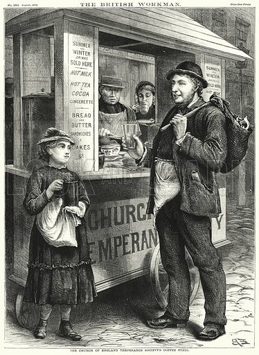 The Church of England Temperance Society's Coffee Stall