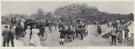 Annual Parade of the Coaching Club, before the Start, Central Park