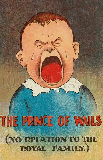The Prince of Wails, boy crying