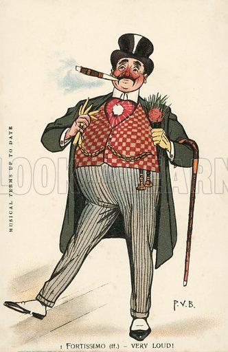 Fashion victim: man wearing a very loud waistcoat