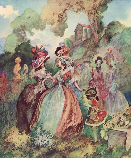 A Little Scandal, Marylebone Gardens
