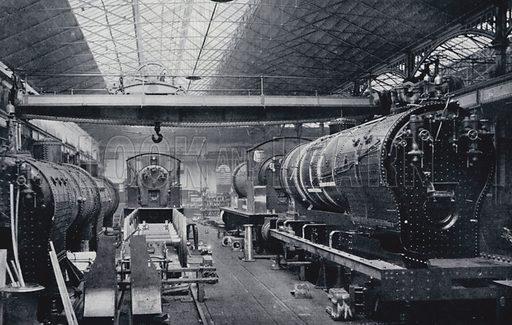 The Making of a Modern Locomotive. Our Home Railways by W J Gordon (Frederick Warne, c 1910).