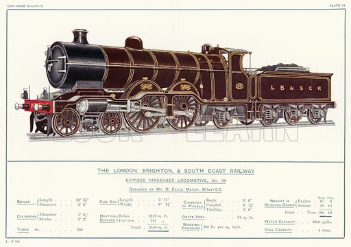 The London, Brighton, And South Coast Railway, Express