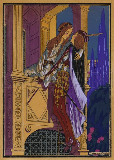 Illustration for Shakespeare's Romeo and Juliet