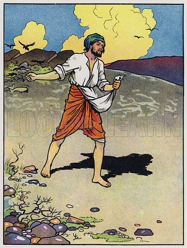 The sower goes forth to sow