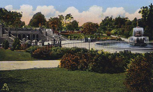 New York: Terrace and Bathesda Fountain, Central Park