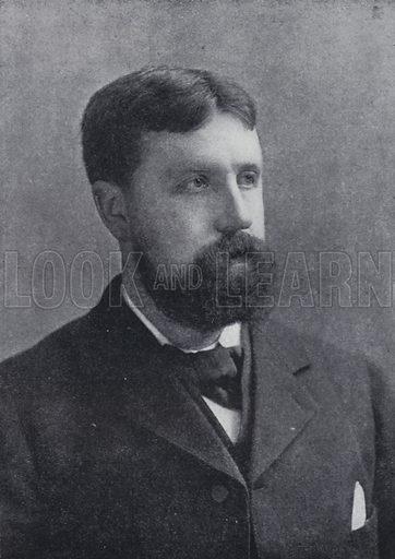 Samuel Rutherford Crockett. Illustration for The International Library of Famous Literature edited by Richard Garnett (Edward Lloyd, c 1900).