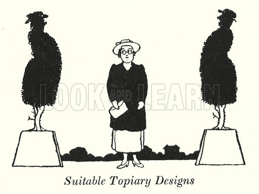 Suitable Topiary Designs