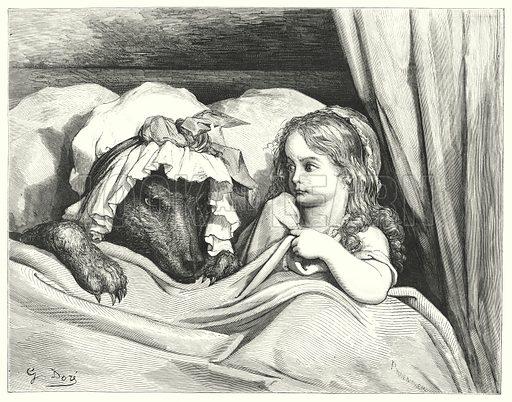 Le Petit Chaperon Rouge; Little Red Riding Hood