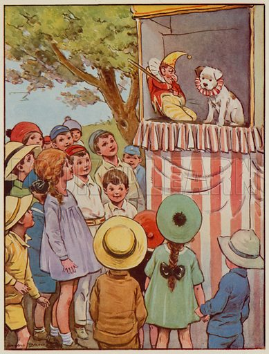 Early 20th century childhood: Punch and Judy