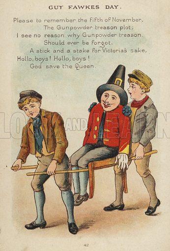 Nursery rhyme: Guy Fawkes Day