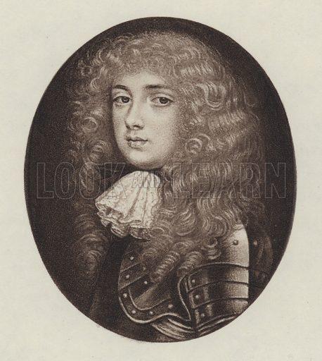 John Churchill, Duke Of Marlborough. Illustration for Queen Anne by Herbert Paul (Goupil, 1906).