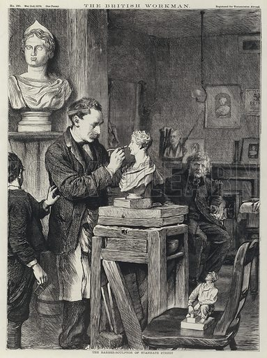 The barber-sculptor of Stangate Street