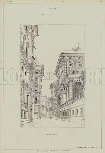 Strada Nuova, Genoa, Italy.