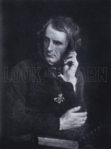 Sir Francis Grant (1803–1878), Scottish artist, c1845. Illustration from Immortal Portraits, by Alexander Strasser (The Focal Press, London & New York, 1941).