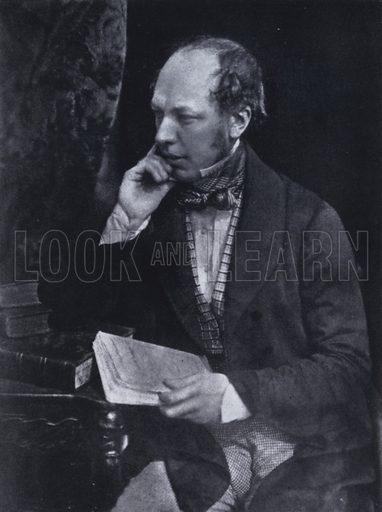 John Murray III (1808-1892), British publisher, c1845. Illustration from Immortal Portraits, by Alexander Strasser (The Focal Press, London & New York, 1941).