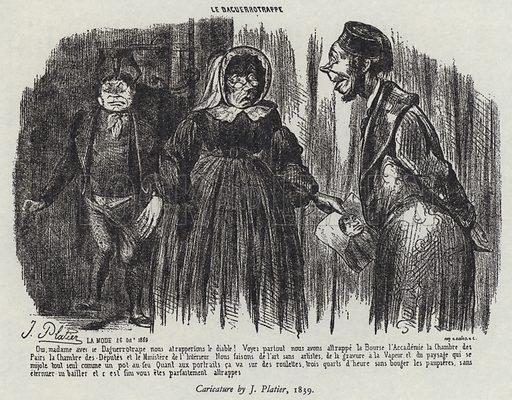 Le Daguerreotrappe, 1839.