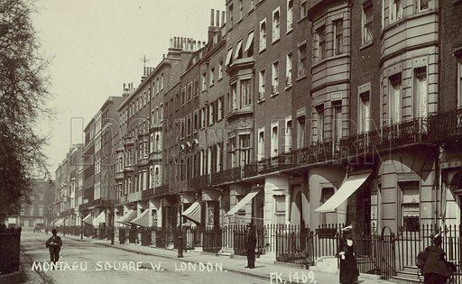 Montagu Square, London