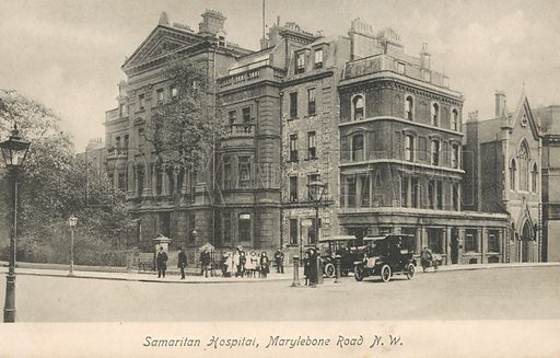 Samaritan Hospital, Marylebone Road, London