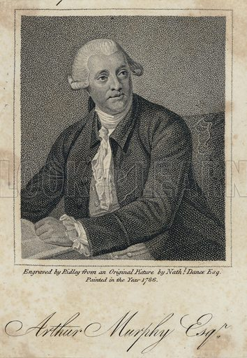 Arthur Murphy (1727-1805), Irish writer.