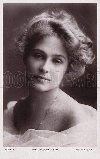 Miss Pauline Chase, portrait