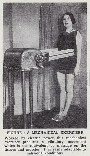 Figure, a mechanical exerciser