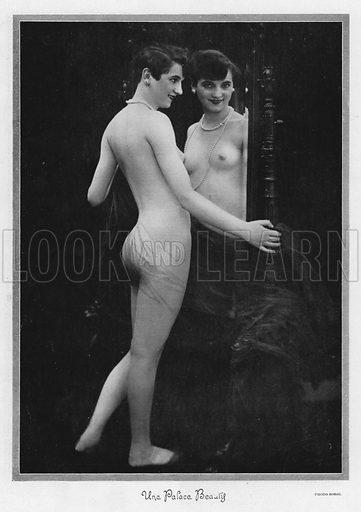 Une Palace Beauty.  Illustration for Palace aux Femmes, La Grande Revue, 1926-27.  Photo credit: Sobol.