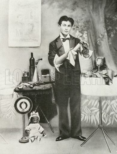 Harry Houdini, c 1893.  From later reproduction.