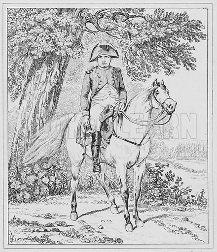 En 1815, In 1815.  Illustration for The Napoleon Gallery (Henry G Bohn, 1846).