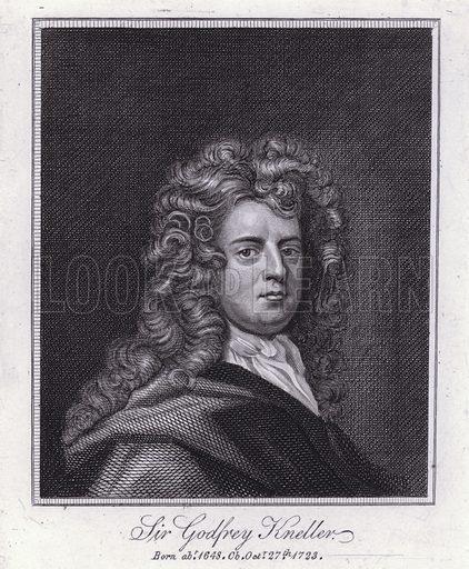 Sir Godfrey Kneller, portait.