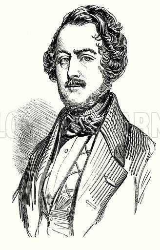 Gaetano Donizetti, portrait.