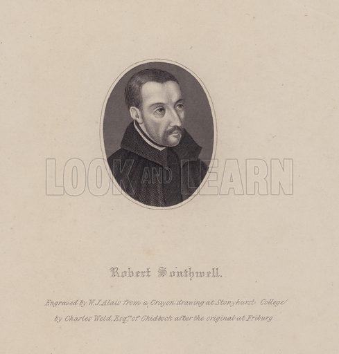 Robert Southwell, portrait.