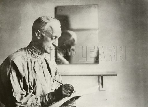 Harvey Cushing, neurosurgeon, portrait.
