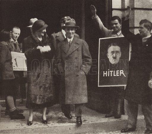 Joseph Goebbels campaigning fo...