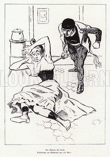 The Slave of Love. Illustration from Das Weib als Sklavin, by Dr Joachim Welzl (Verlag fur Kulturforschung, Vienna and Leipzig, 1929).