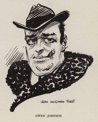 Owen Johnson (1878-1952), American writer. Illustration for Judge's Magazine, 1915.