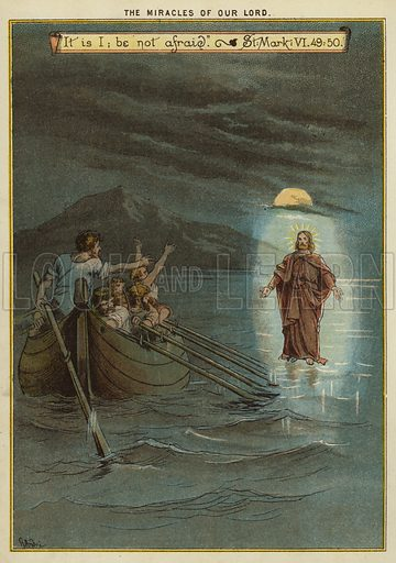 The Miracles of Christ: Jesus walks on water
