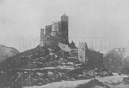Sion, Valere. Illustration for Mon Voyage En Suisse (L Geisler, c 1895).