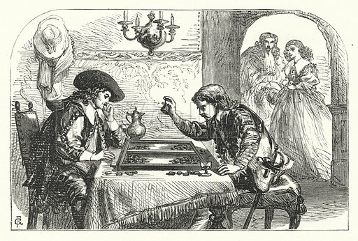 Such is the life of man. Illustration for Aunt Judy's Magazine, 1866.
