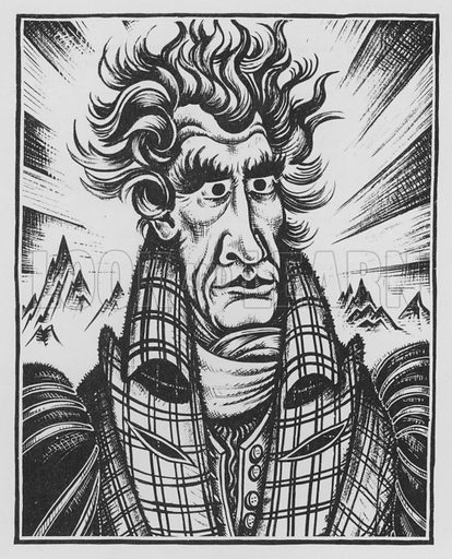 Andrew Jackson. Illustration for A Book of Americans by Rosemary and Stephen Vincent Benet (Farrar and Rinehart, 1933).