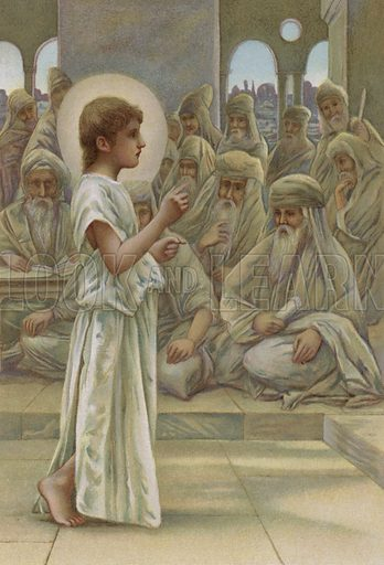Christ in the midst of the doctors