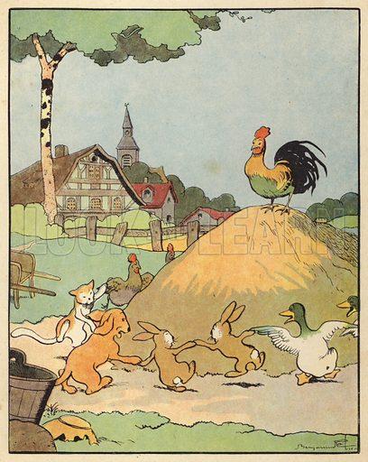 Illustration for Chantecler by Benjamin Rabier